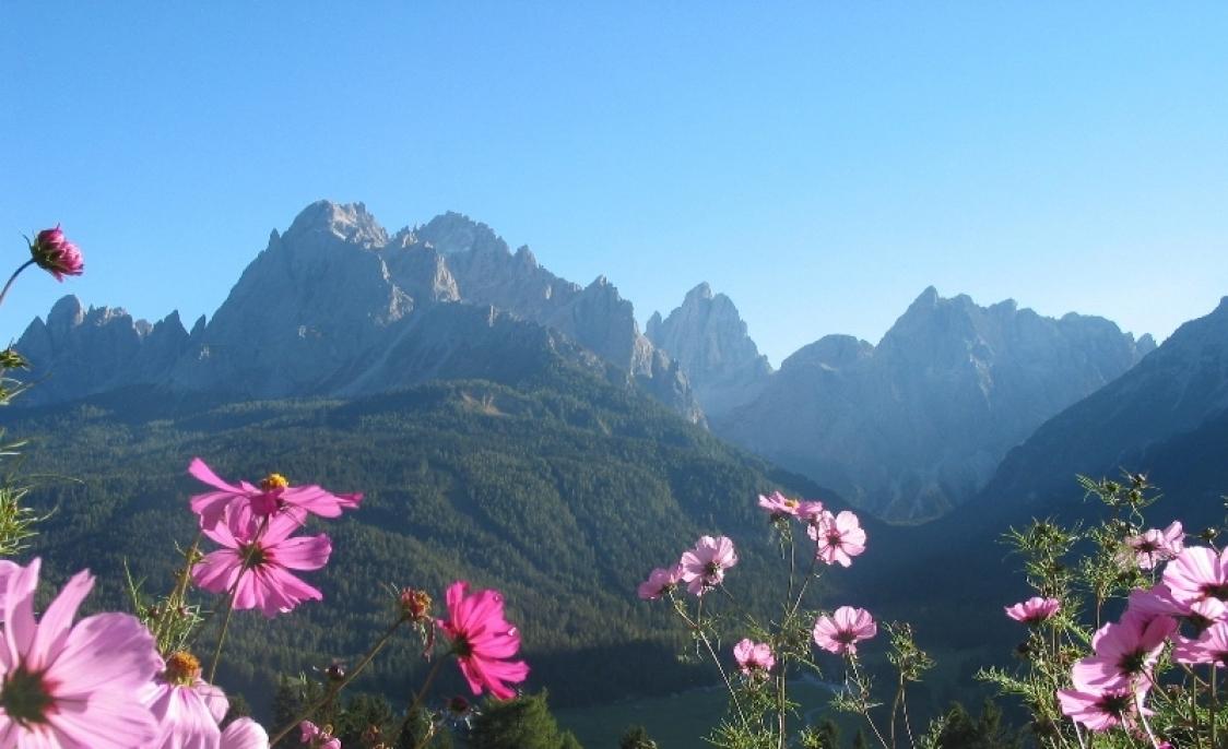 Sommerfrische in den Dolomiten